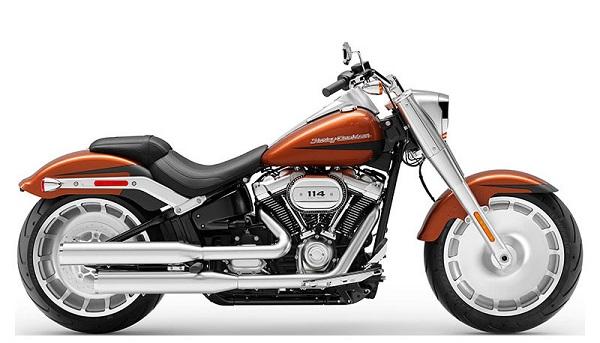 2019 Scorched Orange Harley Davidson Fat Boy Sweepstakes