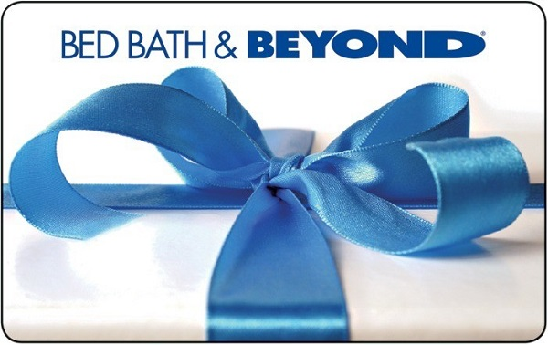 $100 Bed Bath & Beyond Gift Card Sweepstakes