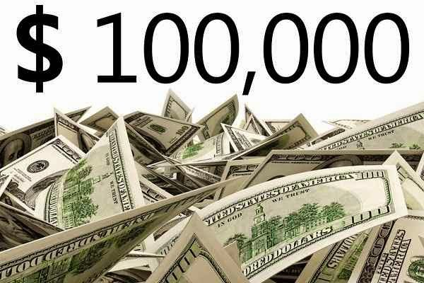 $100,000 Prize Sweepstakes