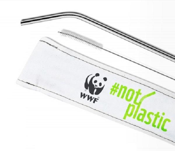 Free WWF Reusable Straw Kit