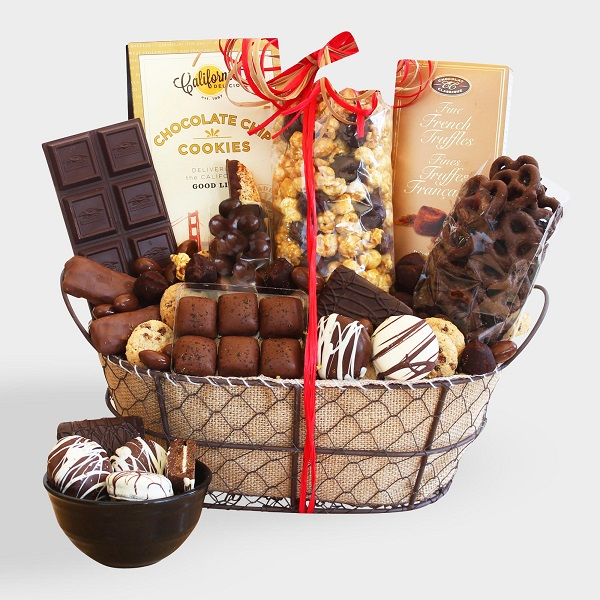 Simply Chocolate Festive Fall Confections Gift Basket Sweepstakes