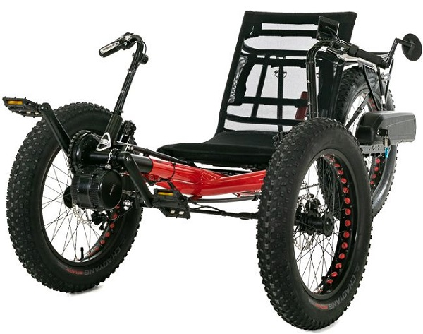 Electric Fat-Tad Recumbent Tricycle Sweepstakes