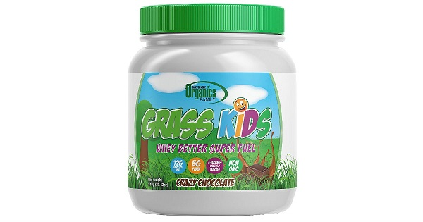 Free Organics Family Grass Kids Whey Powder