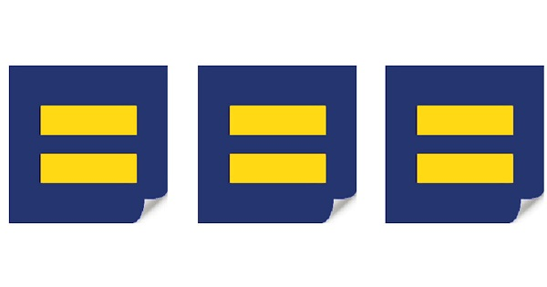 Free Human Rights Equality Sticker