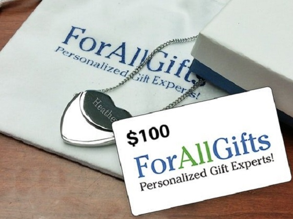 $100 ForAllGifts Gift Cards Sweepstakes