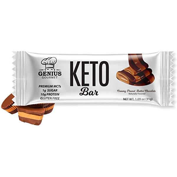 1-Year of Genius Gourmet Keto Bars Sweepstakes