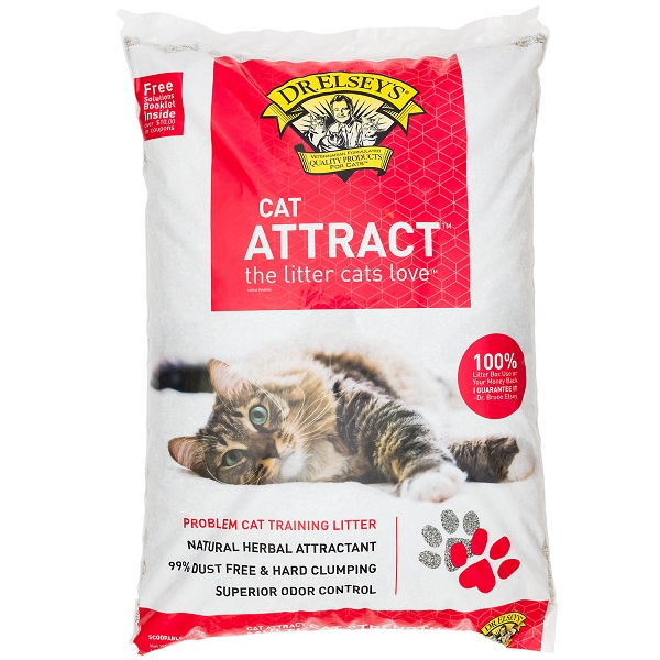 Free 40lbs Dr Elsey's Cat Litter