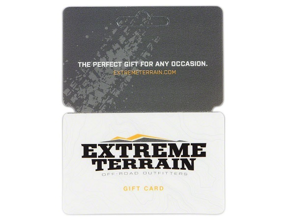 $5,000 Extreme Terrain Gift Card Sweepstakes