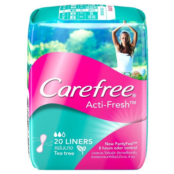 Free Carefree Acti-Fresh Liners