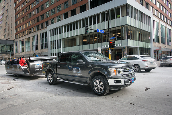 Ford F150 Super Bowl Sweepstakes