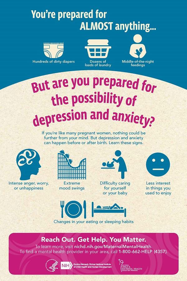 Free Moms Mental Health Poster