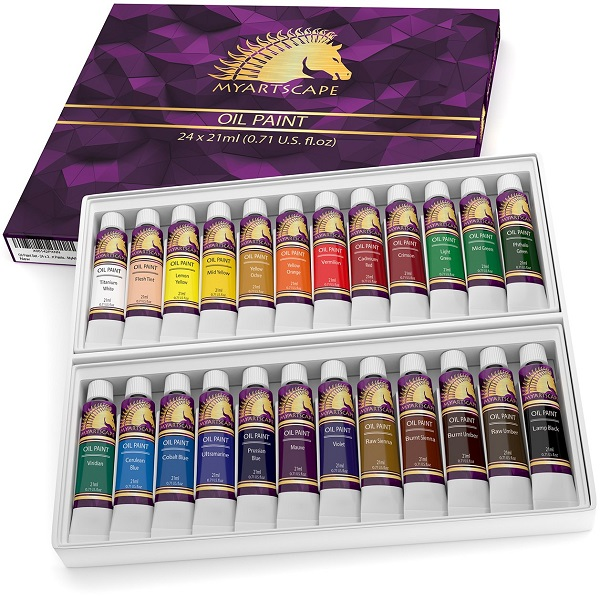 Oil Paints Set Sweepstakes