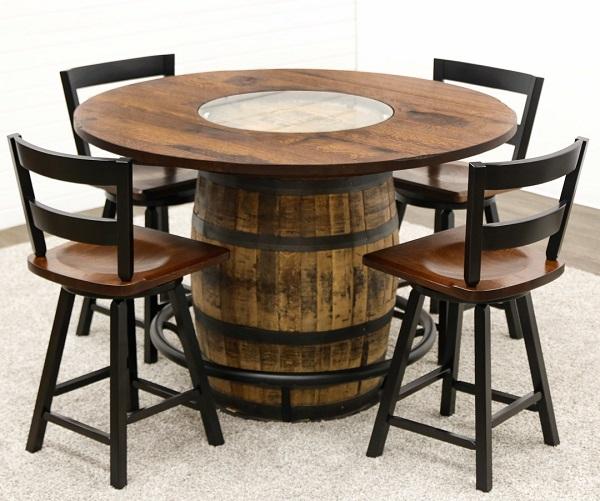 Whiskey Barrel Table Sweepstakes