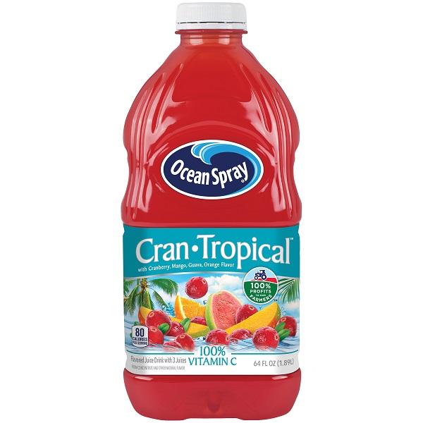 Free Ocean Spray Drink