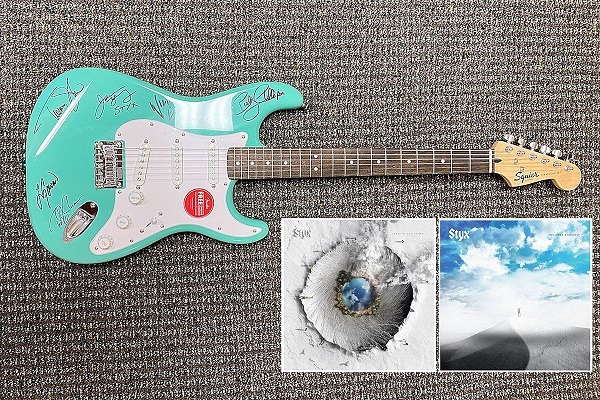 Styx Autographed Guitar Giveaway