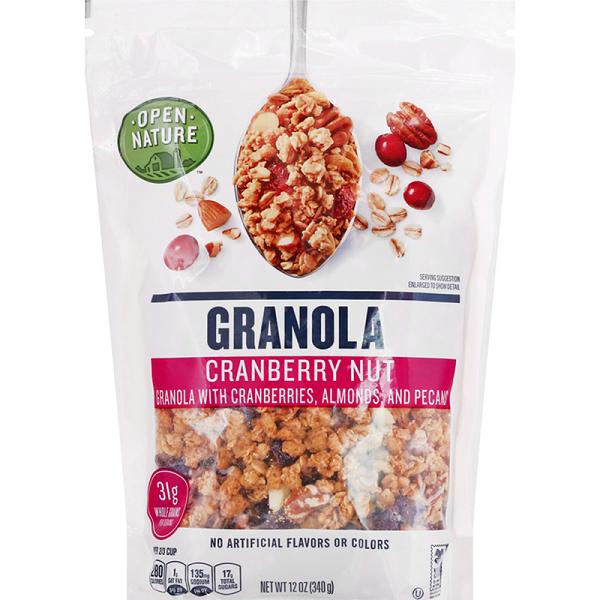 Free Open Nature Granola